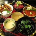 神邉 - 三方ちらし寿司