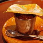 日本料理 太月 - 先付:いくらの玉〆