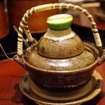 日本料理 太月 - 鱧と松茸の土瓶蒸し