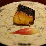 日本料理 太月 - 焼きもの:鰆の柚香焼き