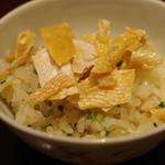 日本料理 太月 - お食事:ハラスご飯