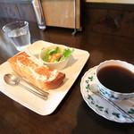 """cafe 柚 - 料理写真:モーニングセットの """"C"""""""