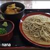 そば処 城野 一心 - 料理写真:ミニ丼セット 750円