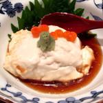 にぎわい寿司 - 豆腐