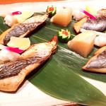にぎわい寿司 - 焼き魚