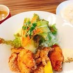 ieno - 唐あげ定食