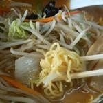 旭川ラーメン熊ッ子 - 料理写真:ランチパスポート  辛口みそ野菜ラーメン   500円