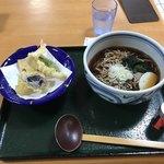 レストラン あゆみ - 料理写真:天ぷらそば。 税込700円。 美味し。