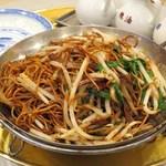 75475015 - 香港醤油炒麺(香港風チャーシュー入り醤油焼きそば)