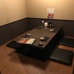 日本酒スローフード とやま方舟 - 座敷タイプの掘りごたつ個室は是非ご予約を。