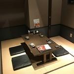 日本酒スローフード とやま方舟 - 畳個室の「隠れ完全個室」はご予約に