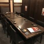 日本酒スローフード とやま方舟 - 最大10名様対応のテーブル席