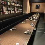 日本酒スローフード とやま方舟 - 最大26名様まで対応可能な小上がりソファー席