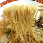 宝来軒 - 細ストレート麺