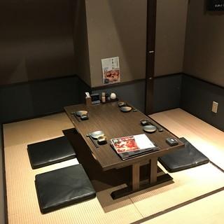 予約でしか用意しない隠れ個室「畳完全個室座敷席」