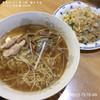 東京ラーメン 東八軒  - 料理写真:ラーメン・半炒飯 800円