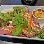 Café Restaurant Lavender - ローストビーフ丼(1300円)