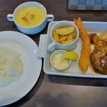 Café Restaurant Lavender - ミックス(1200円)ライス、スープ(200円)
