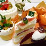 セカンドハウス - チーズケーキやチョコレートケーキ、アーモンドケーキなど、シンプルで素材の味を活かしたケーキをお作りしています。