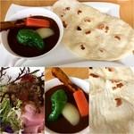 75477821 - 野菜カレー(ナン)970円