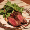 イチ - 料理写真:厳選黒毛和牛(フィレ)