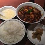 陳麻婆豆腐 - 陳麻婆豆腐のAランチ