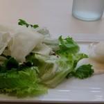 75479071 - シーザーサラダと前菜