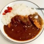 一心 - 料理写真:一心@銚子 カツカレー・大盛り(460円+90円)