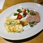 Italian Dining NATURA - 旬の前菜盛り合わせ3種