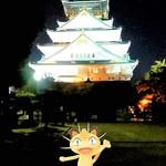 Italian Dining NATURA - この時の大阪城はニュースの巣