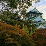 Italian Dining NATURA - 紅葉が始まりかけた大阪城