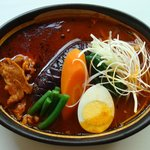 Buzz curry  札幌本店 花車 - 生ラムと野菜のカリー  ¥1,100-「最近のヒットカリーです」