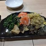 明 - 手作りナムル5種盛り