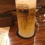 アウトロウサルーン - 生ビール