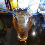 アプサラ レストラン&バー - セットのアイス烏龍茶