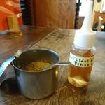ルッカパイパイ - ガラムマサラふりかけとルッカパイパイ酢