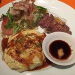 勝乃屋 - 料理写真:オムライスプレート