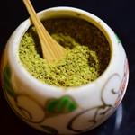 石ばし - 香り豊かな山椒