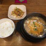 韓国スンドゥブ専門店 ナムデムン - スンドゥブランチセット 1000円