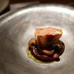 ラ カンロ - フォアグラとセップ茸、鳩のビスク