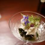 ラ カンロ - 甘鯛と蕪おろし、キャビアのせ