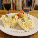 ホットケーキ つるばみ舎 - サンドセット
