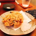 蕎麦 たじま - 小海老 かき揚げ(≧∀≦)おいしー♡
