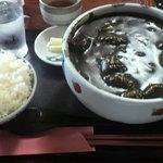 7549597 - いかすみカレーうどん定食