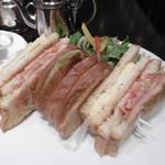 神戸珈琲物語 - アメリカンクラブサンドイッチ