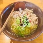 かど家 - 豚しゃぶ鯛塩らーめん(950円)
