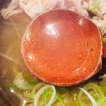 かど家 - 透き通ったスープ!