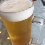 かずさカントリークラブ - まずはグラスビール
