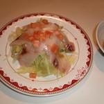 大衆居酒屋 和楽 - 海鮮サラダ