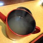 そばげん - 熱々そば湯